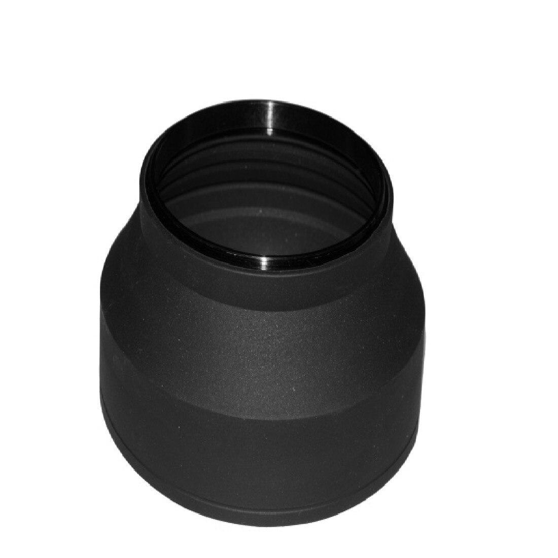 Centechia 52/58mm 3 etapas 3 en 1 parasol de lente plegable de goma plegable 52/58mm lente dsir para cámara Nikon Canon
