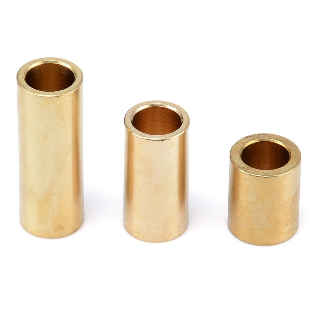 1 stück 8mm Messing Hülse Lager Selbst Schmier Kupfer Hülse Lager Buchse Für 3D Drucker Slider Zubehör 3 Größe