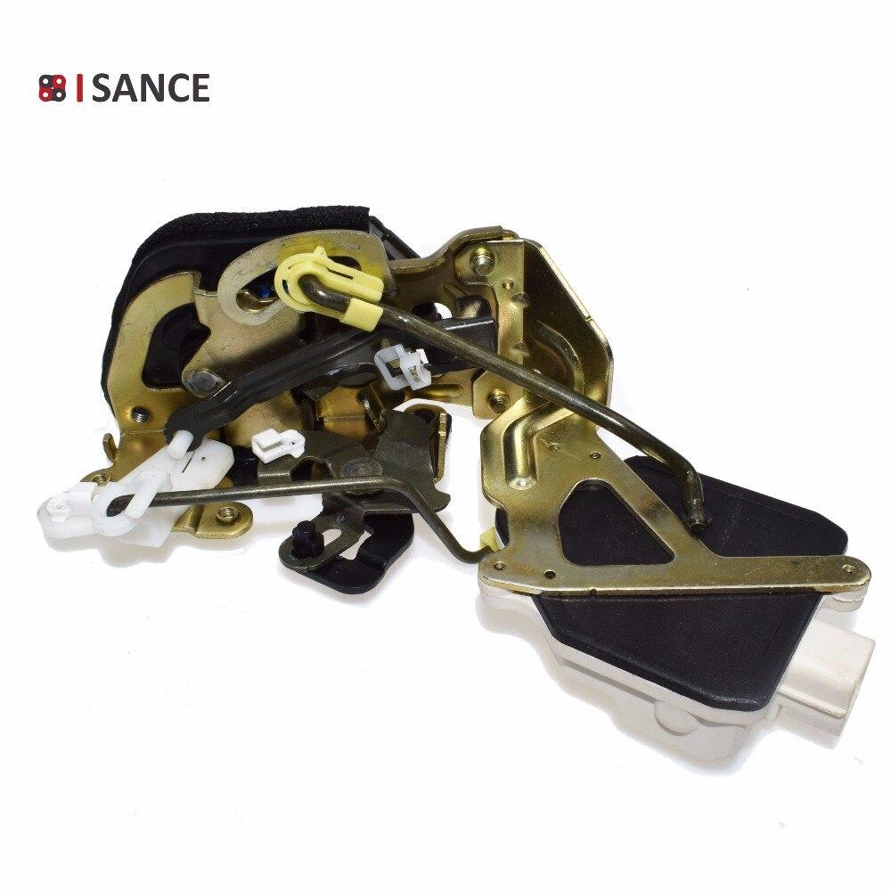 ISANCE Door Lock Latch Actuator Rear Left RL 81410-2D001  814102D001 For Hyundai Elantra 2.0L 2001 2002 2003 2004 2005 2006