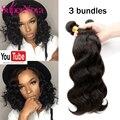 Supernova hair products brazilian body wave brazilian virgin hair,3bundles natural color top quality  brazillian virgin hair