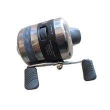цена на BL25 Fishing Reel for Slingshot Shooting Fish Closed Wheel Outdoor Hunting with 5#PE line 40M
