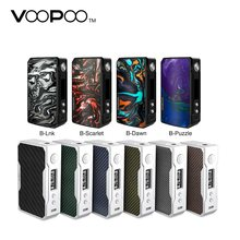 In stock VOOPOO DRAG 2 177W TC Box MOD e cigarette and Drag 157W box mod Vape w/ US GENE chip no 18650 battery Box mod vs Shogun(China)