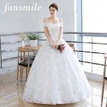 263c4d7bb Fansmile nueva llegada Vintage De encaje Vestido De novia 2019 Vestido De  novia a medida Plus tamaño vestidos De boda envío grat.