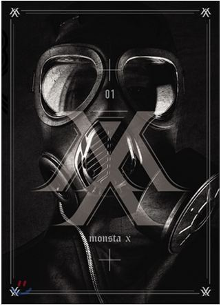 купить MONSTA X 1ST MINI ALBUM - TRESPASS + Photobook (92p) + 1 random photocard)  Release Date 2015-05-14 KPOP недорого