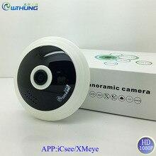 WTHUNG 2MP 1080P Wireless wifi Mini Panoramic IP Camera FishEye 360 Degree 3D VR Motion detector CCTV Web Camera IP iCsee XMeye