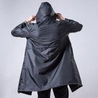 Giacca a vento da Uomo Impermeabili Da Trekking Adulti Uomini Per Cappotto di Pioggia poncho Giacca capa de chuva chubasqueros impermeables