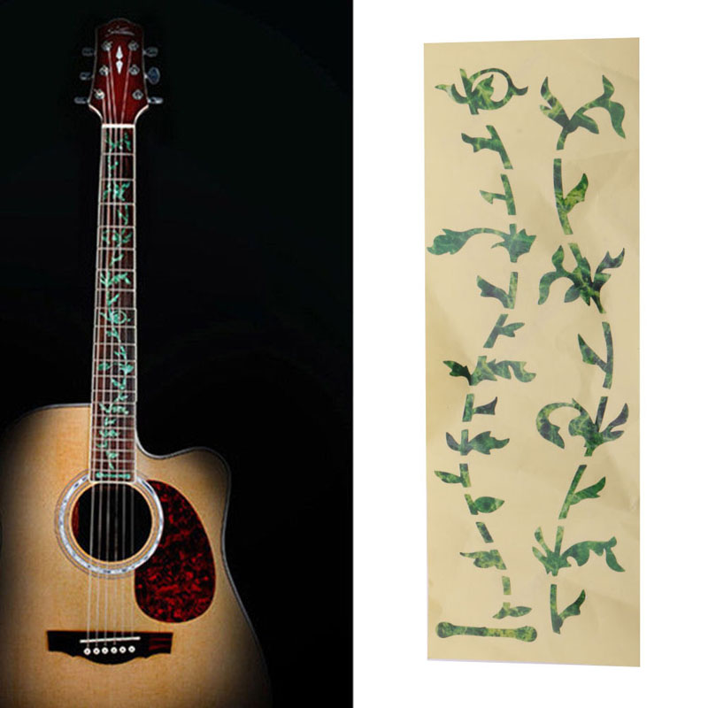 new tree of life acoustic guitar guitar inlay sticker fretboard marker decal diy in guitar parts. Black Bedroom Furniture Sets. Home Design Ideas