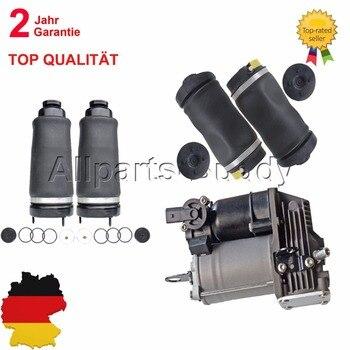 AP03 5 pièces ressort de Suspension pneumatique avant arrière + pompe à compresseur pour Mercedes classe R W251 R500 R350 R320 R550 R63 AMG