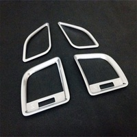 Fit For Mazda 2015 CX 5 Outlet Decorative Frame CX5 Dashboard Decorative Frame Cover Quanlity ABS Protection Trims Car Styling