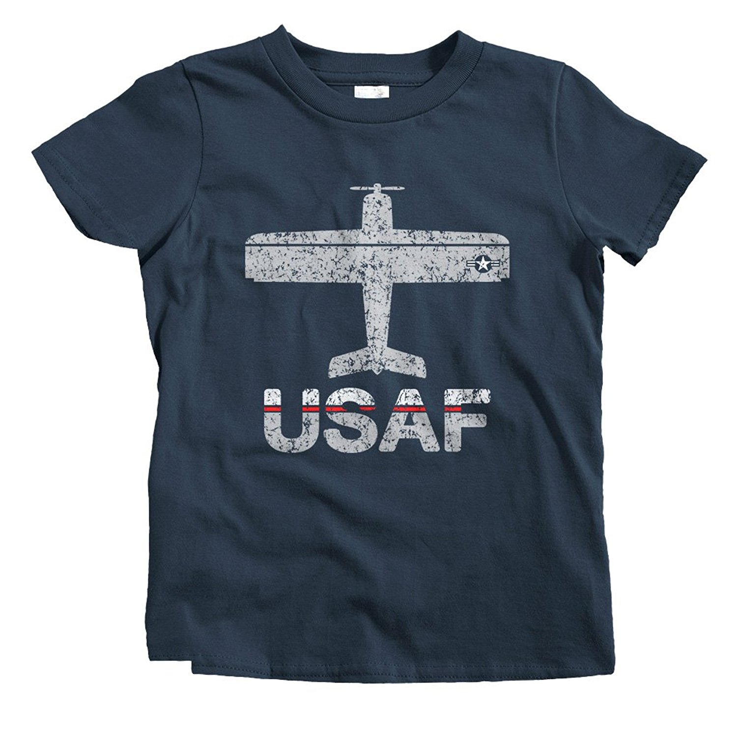 2019 Hot Sale 100% Cotton Smash Vintage Kids Fly <font><b>USAF</b></font> Air Force T-<font><b>Shirt</b></font> Summer Style Tee <font><b>Shirt</b></font> image