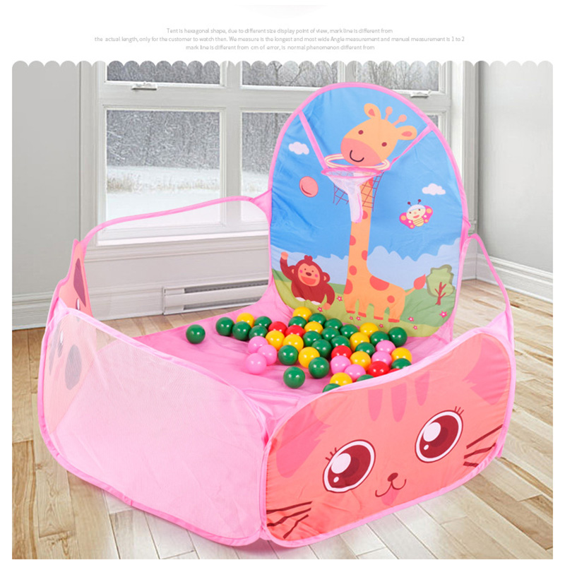 Kids Safe Foldable Playpens Game Pool /Sea Ball 7cm Diameter Portable Baby Playpen Children Outdoor Indoor Ball Pool Play Tent