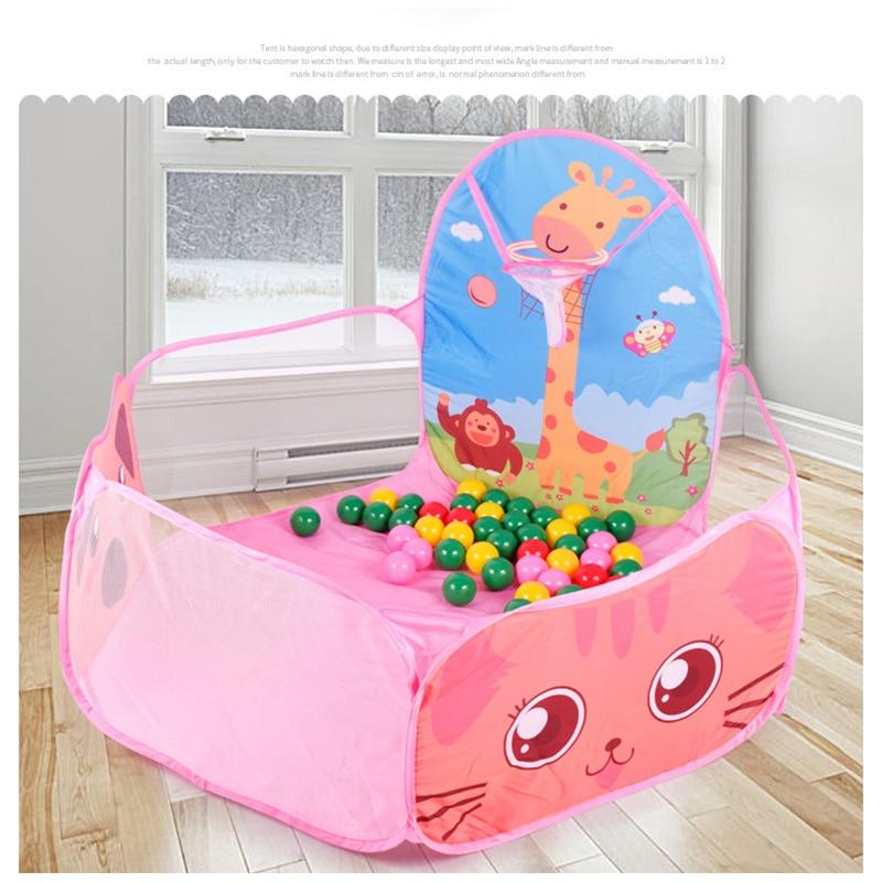 Kids Safe Foldable Playpens Game Pool /Sea Ball 7cm Diameter Portable Baby Playpen Children Outdoor Indoor Ball Pool Play Tent