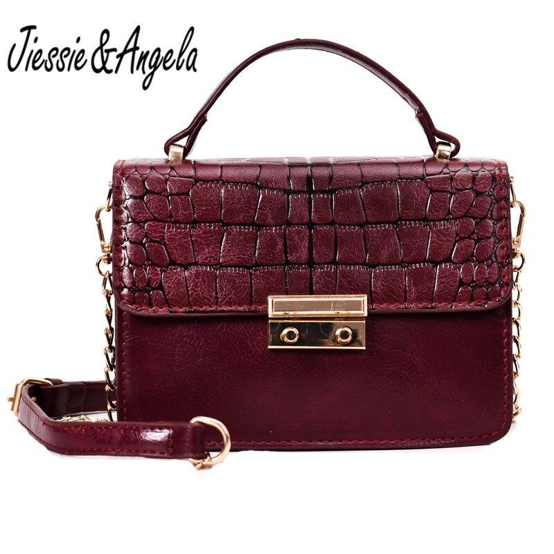 Jiessie&Angela New Women Handbags Luxury Designer Women Handbags Shoulder Bags Fashion Lady's Messenger Bag Crossbody Bag Bolosa