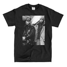 Gang Starr – B&W Picture – Black T-Shirt Short Sleeve Discount 100 % Cotton T Shirts Cheap Crew Neck Men'S Top Tee Plus Size