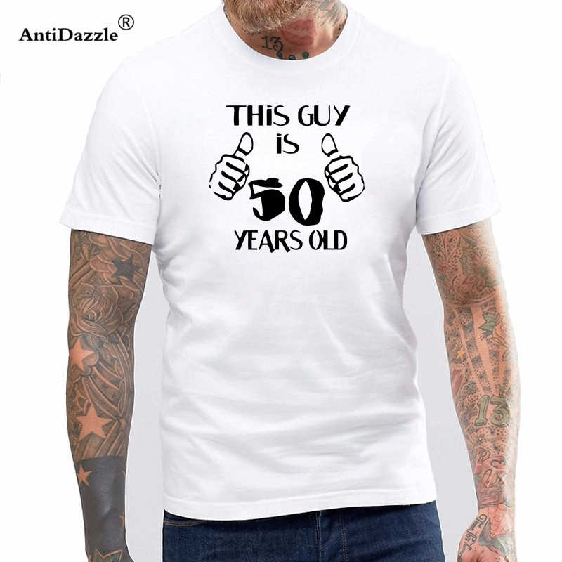 c3ba51f1c Detail Feedback Questions about 50th Birthday Shirt Bday Gift Ideas ...