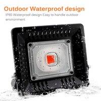 AC110V/220V Grow Led Full Spectrum 50W 100W Floodlight Fitolampy For Plants Waterproof IP65 Full Spectrum Led Aquarium Lighting