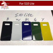 10pcs For SAMSUNG S10/S10+ S10 Plus/S10 lite e Battery Cover Back Door Rear Glass Housing Case housing
