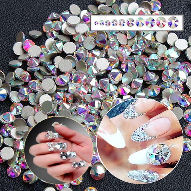 Glue On 3d Nail Art Diy Pixie Crystal Decoration Previous Next