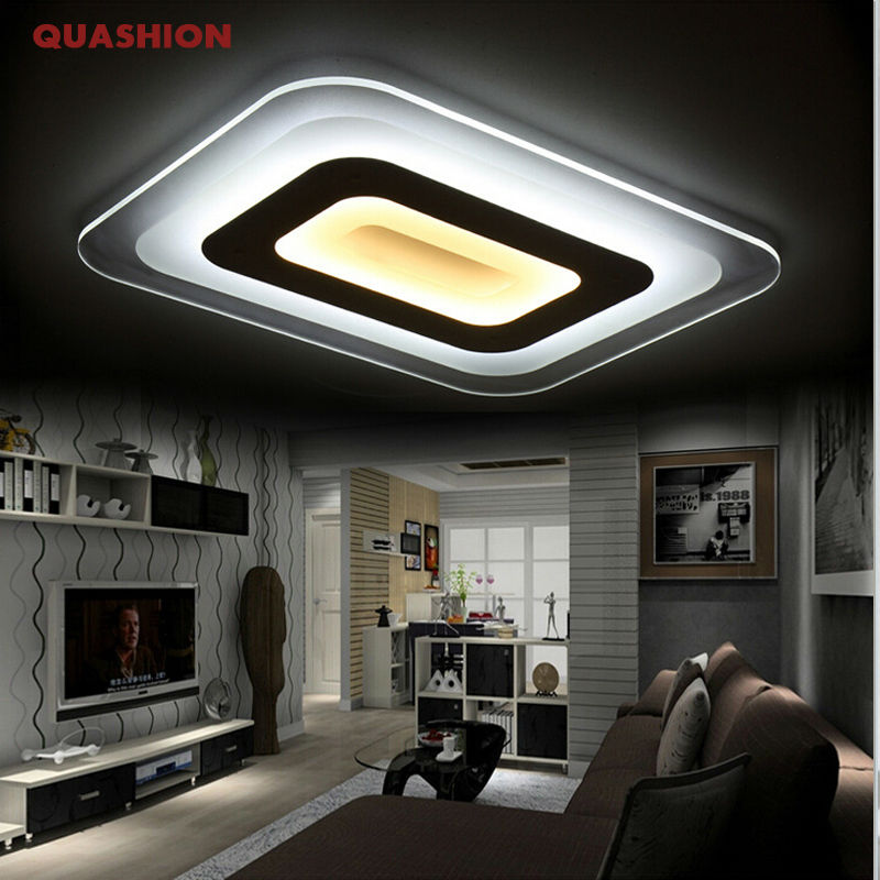 Ultra-thin brief modern led ceiling light living room lights licht acrylic decorative lampshade ceiling lamp lamparas de techo modern led ceiling lights acrylic ultrathin living room ceiling lights bedroom decorative lampshade lamparas de techo
