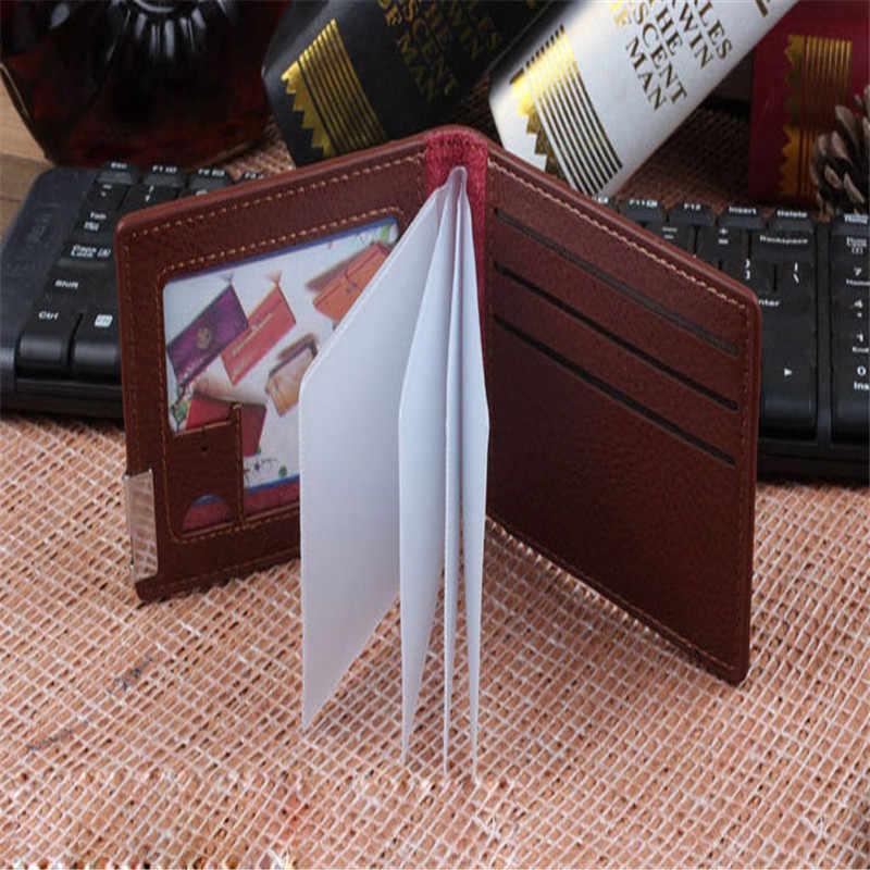 De alta calidad de coche conductor licencia bolsa coche documentos titular de la tarjeta de billetera de cuero de la PU bolso 3164