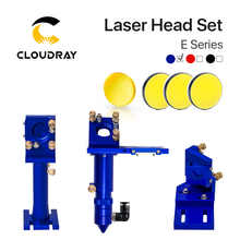E Series: CO2 Laser Head Set + 1 Pcs Focusing Lens + 3 Pcs Si / Mo Mirrors for Engraver Cutting Machine Parts Colors Optional - DISCOUNT ITEM  14% OFF All Category