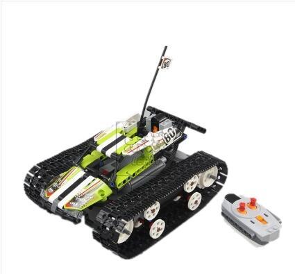 152152 Science jouets technologie série de télécommande sur chenilles suv puzzle assemblé bloc jouet