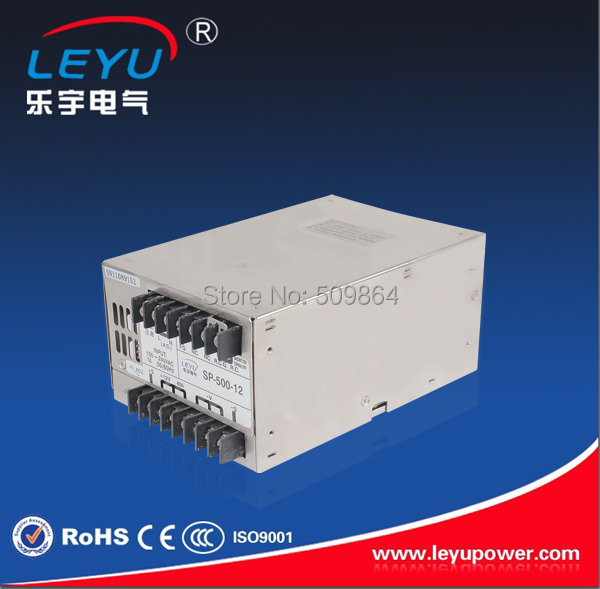 15v ac dc sp 75 15 single output with pfc function input fully range switching power supply LED driver PFC function 500w 13.8v AC DC single output switching power supply from Chinese supplier