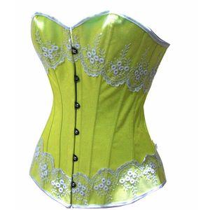 Image 5 - Aonve Body Shaper เอวรัดตัวชุดชั้นในสีชมพูน่ารัก Overbust Corsets และ Bustiers Appliques Shapewear Shapers Shapwears