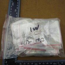 ptc thermistor resistor kit 300pcs, 1w,0.1r-750r ,carbon ,30values x10pcs=300pcs, 5%, eltronic components
