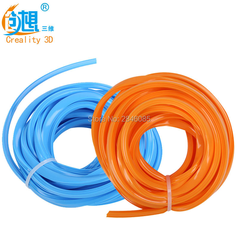 Wholesale 50M/Lot Decorative Strip CREALITY 3D Printer Parts CR-10 2 Colors Orange/Blue Optional For Creality 3D Printer wholesale price pump power cable for flora lj320p printer parts
