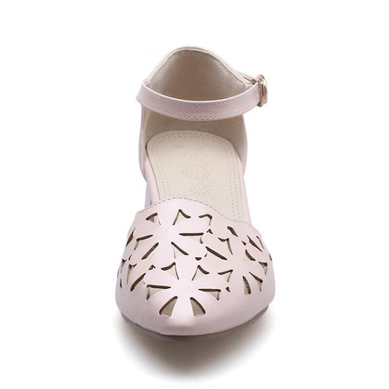 Elegante blanco Mujeres Negro marfil Moda Sandalias Colores Ahuecan Del Grueso Fuera Tamaño Hebilla Vestido rosado Hacia De 43 32 Taoffen Zapatos Talón 4 Femenina Tacón Alto Calzado gnWRqFAf
