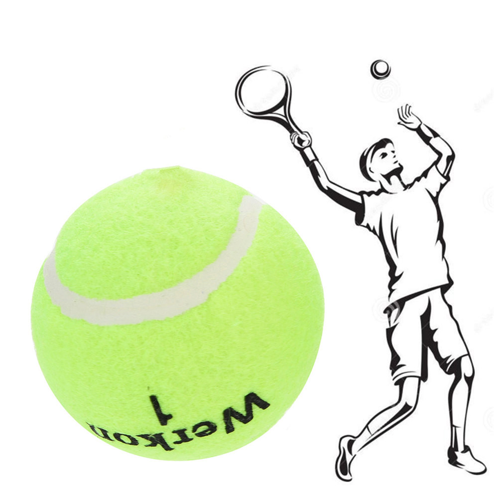 New 3Pcs Training Tennis Ball Drill Exercise Resiliency Tennis Balls Trainer With Elastic String Nature Rubber+PP Lowest Price