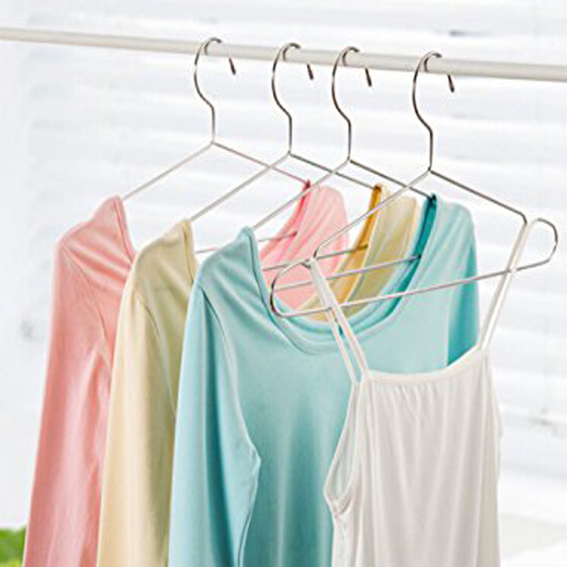 20 pieces/Lot High Quality Metal Clothes Hanger with Groove Anti ...