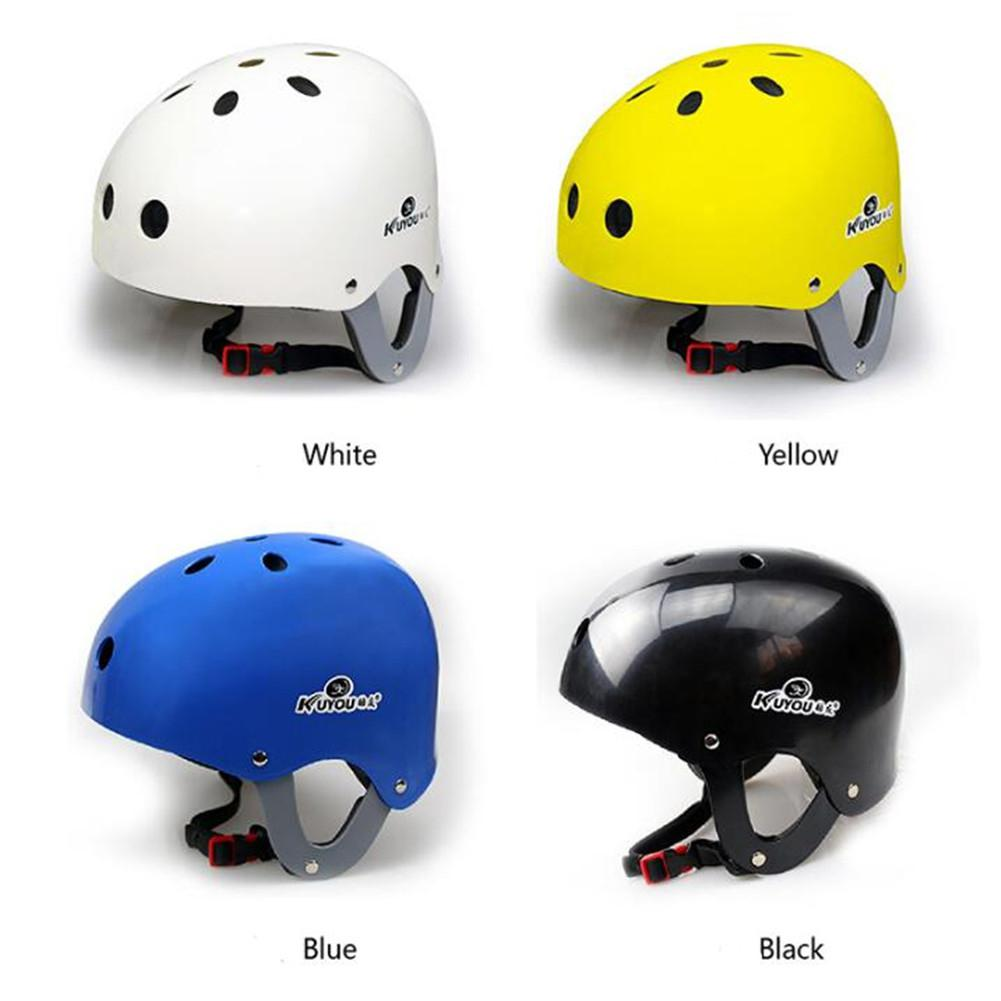 HobbyLane Unisex Safety Protection Water Helmet Kayak Rafting Skateboard Water Sailing Wading Surfing Sporting Drifting Helmet