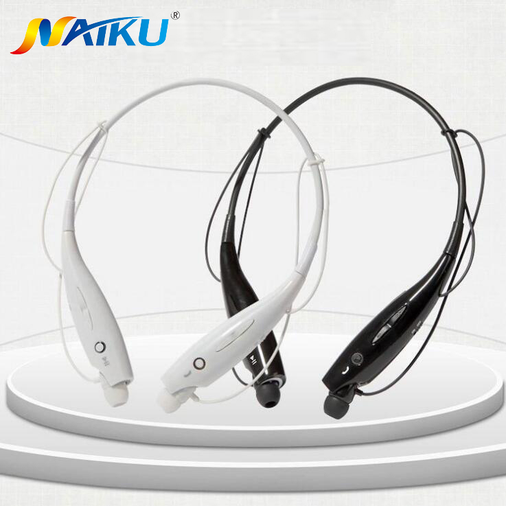 Hot NAIKU-730 Wireless Bluetooth Headset Sports Bluetooth Earphones Headphone with Mic Bass Earphone for Samsung iphone NAIKU730 hot sale ttlife smart bluetooth 4 1 earphone upgraded wireless sports headphone portable handfree headset with mic for phones