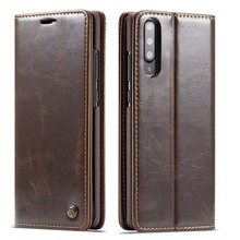 Original CaseMe Phone Cases Brand Leather Magnet Auto Flip Wallet Case Cover For Samsung Galaxy A70 A50 A40 A20 A30 KS0278