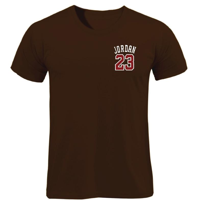 Brand Clothing Jordan 23 Men T-shirt Swag T-Shirt Cotton Print Men Women T Shirt Homme Fitness Camisetas Hip Hop Tshirt 2018 New Футболка