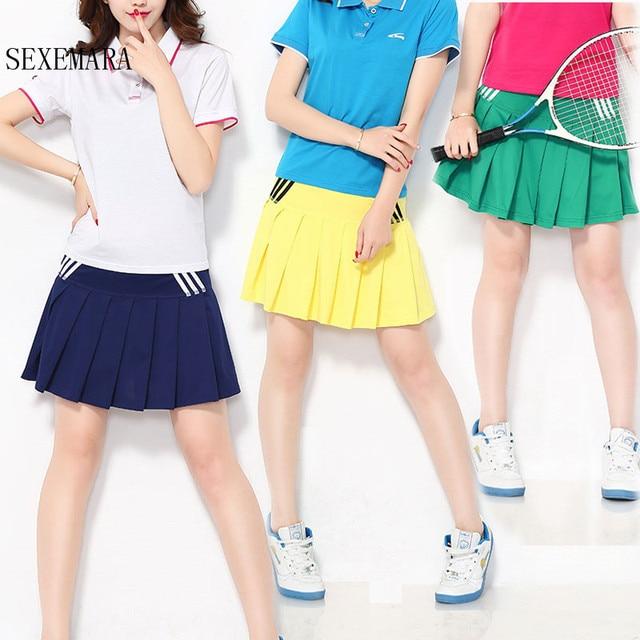 Sexemara Tennis Skorts Cycling Skirt Safety Leggings Dress Suit