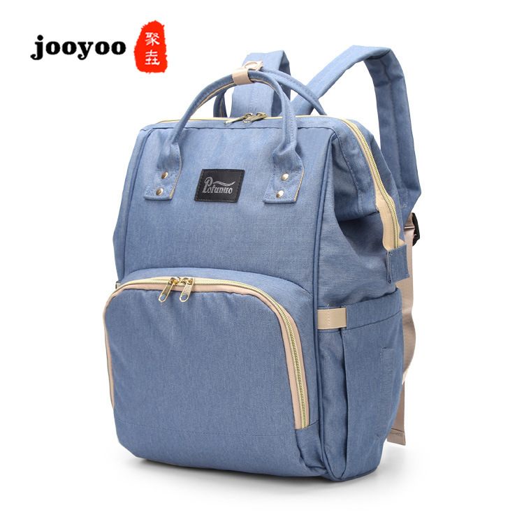 New Multi-function Fashion Convenient Large-capacity  Mommy Bag Hot Diaper Bag  Stroller Bags jooyooNew Multi-function Fashion Convenient Large-capacity  Mommy Bag Hot Diaper Bag  Stroller Bags jooyoo