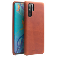 For Huawei P30 Pro Case Metal Buttons 100% Genuine Leather Case For Huawei P30 Pro P30Pro Quality Cowhide Case Comfortable Feel
