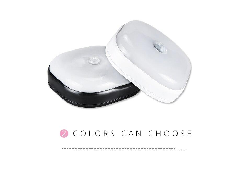 Under Cabinet Light PIR Motion Sensor Wireless Wall Lamp Smart LED Light Warbrobe Ceiling Closet Emergency Bedroom Kitchen Light (3)