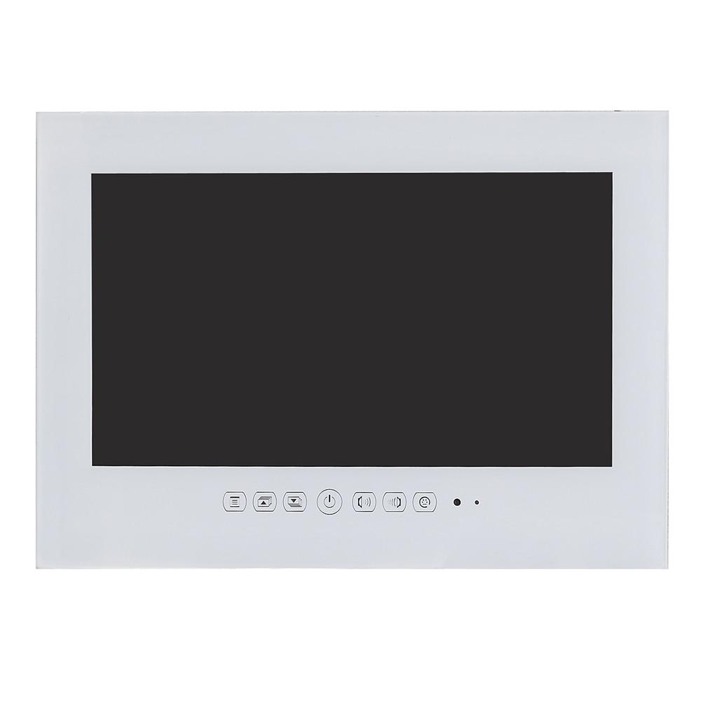 Souria 27 inch 1080P Full HD WiFi Android 9 0 Smart Internet Waterproof bathroom TV Black Souria 27 inch 1080P Full HD WiFi Android 9.0 Smart Internet Waterproof bathroom TV Black/White IP66 Glass Panel
