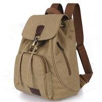 AUGUR Brand Canvas Men Women Backpack College High School Bags For Teenager Boy Girls Laptop Travel
