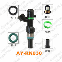 ayounes 40pieces/set fuel injector repair kit for fby1160/16600-ed000 for  nissan