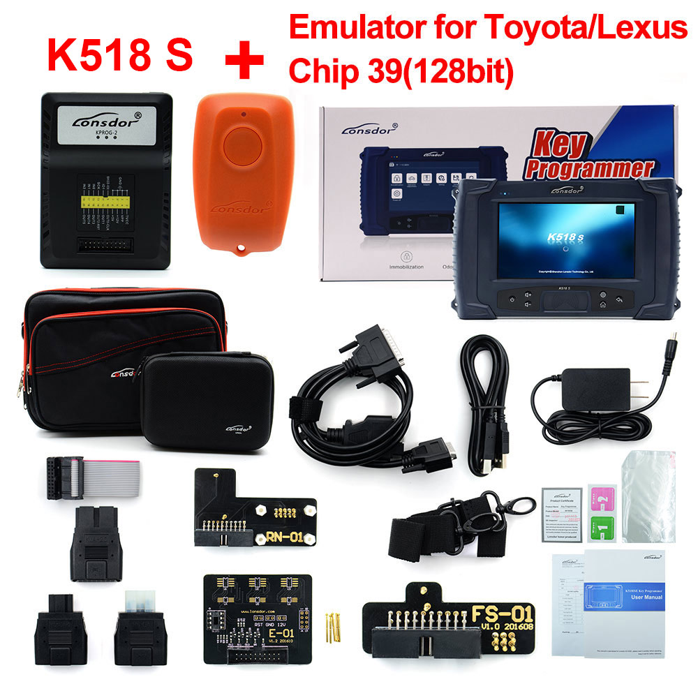 Image 5 - Original LONSDOR K518S Key Programmer Basic Version with  Update-in Auto Key Programmers from Automobiles & Motorcycles on