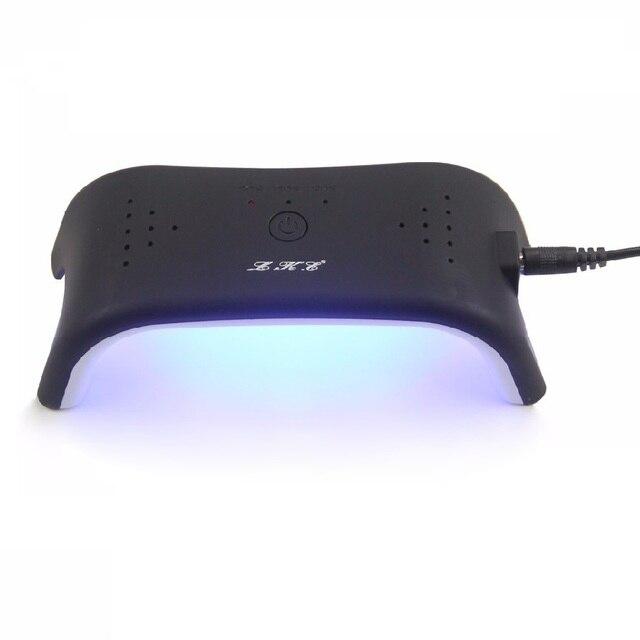 LKE 12 Watt Nagel Trockner LED UV LAMPE Weisses Licht 3 Timer USB Line