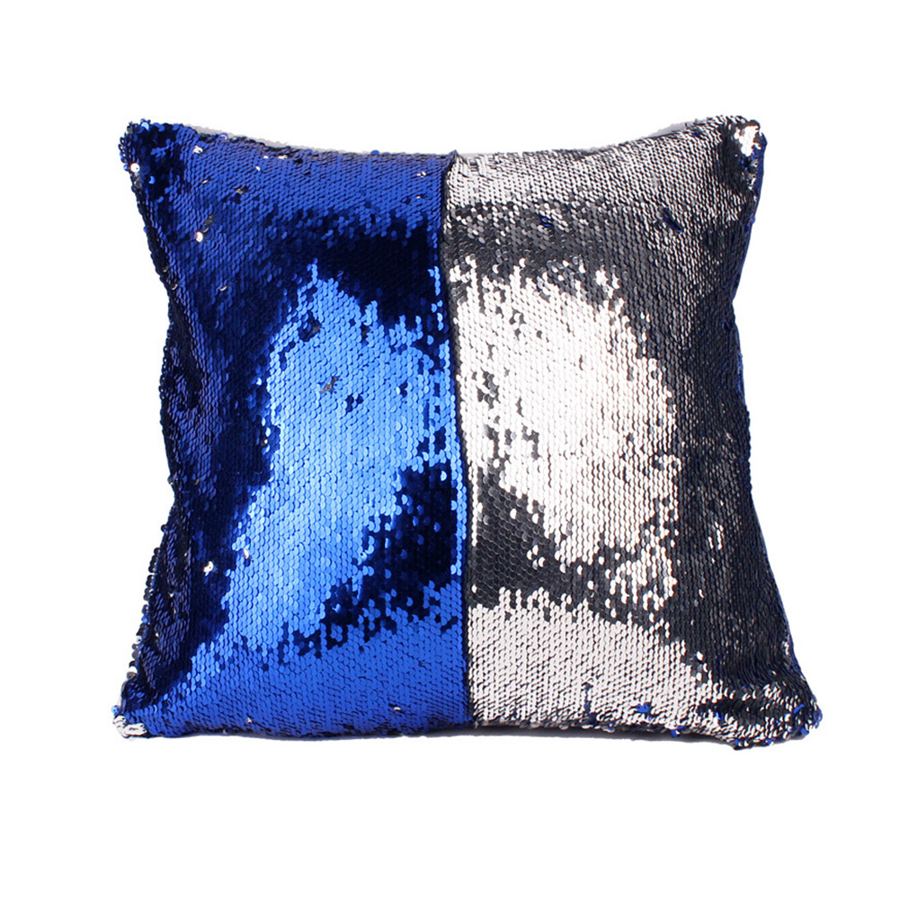 40cm*40cm Multi Patterns Homy Sequin Pillow Creative Picture Printed Design Case Household Cotton Pillow Set With Zipper
