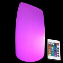 цена Skybess D12*H20cm LED Table Lamps RGB 16 Color Changing Hanging Portable light for Hotel KTV Club Bar Party free shipping 1pc онлайн в 2017 году