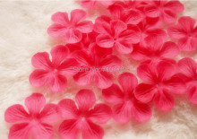 8 colors 5000pcs/lot Wedding Decorations Fashion Atificial Flowers Wholesale Polyester Rose plum blossom Petals