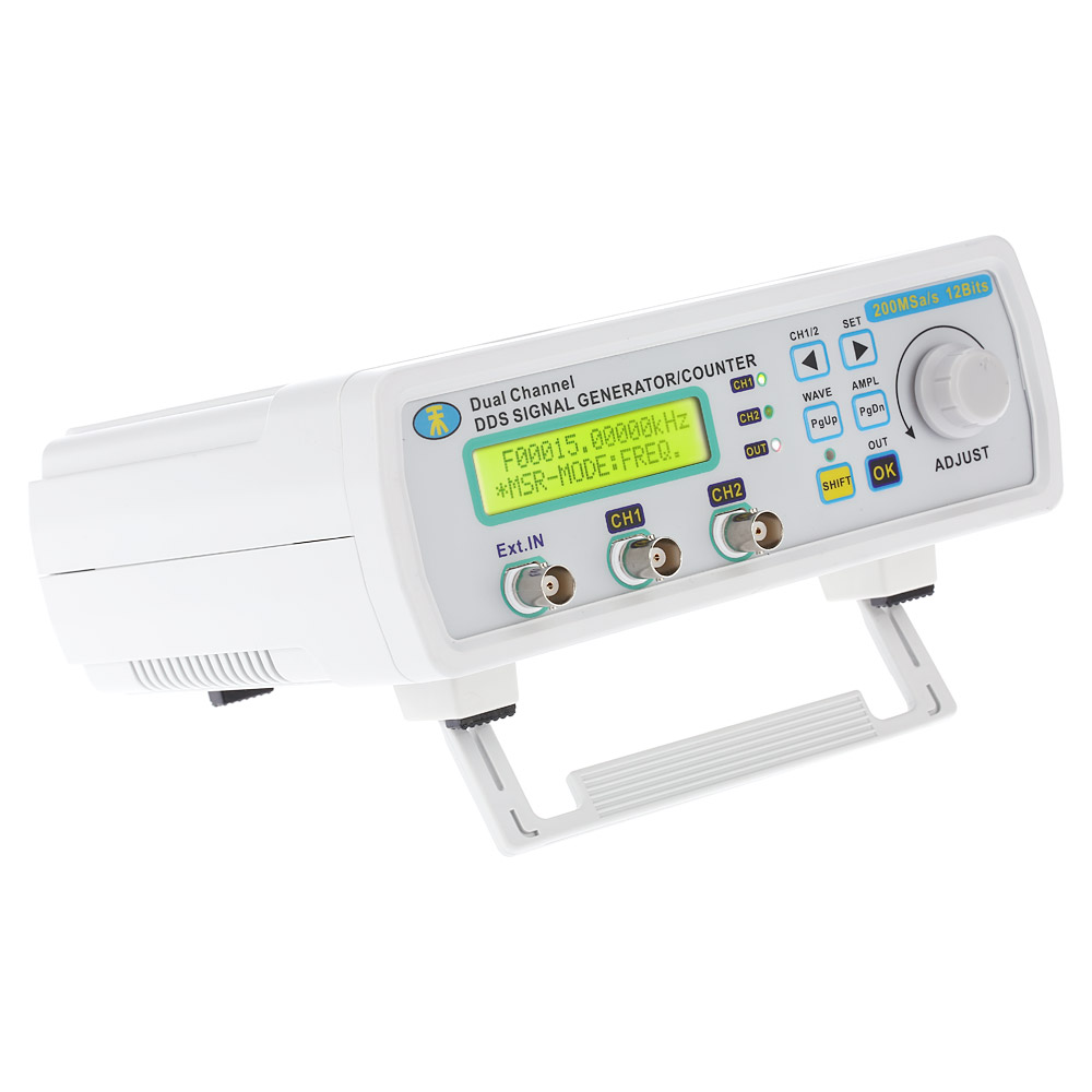 Digital Dds Function Signal Generator Arbitrary Waveform Dual Ch High Frequency Power Bandwidth 200msa S 25mhz In Generators From